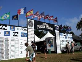 入り口の両サイドには過去の優勝者の名前が入っていて、歴史が感じられます。