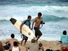 ハワイのGAVIN GILLETTE