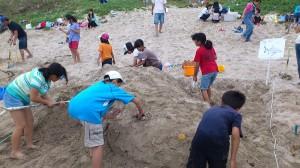 砂の造形大会